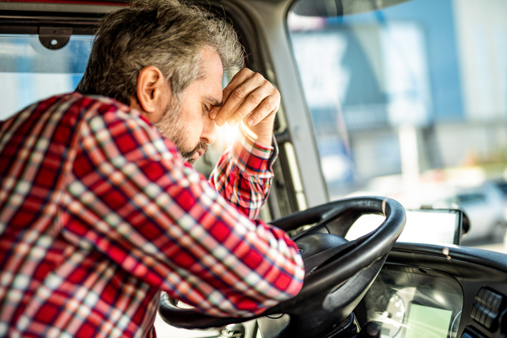 Impaired truck drivers
